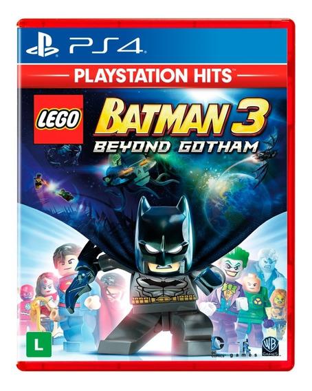 Lego Batman 3 - Beyond Gotham - Ps4 Hits - Lacrado