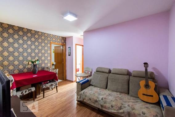 Apartamento No 3º Andar Com 2 Dormitórios E 1 Garagem - Id: 892944794 - 244794