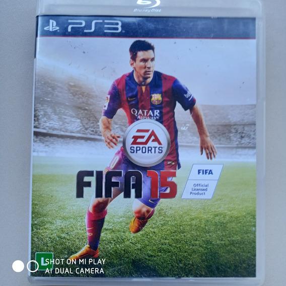 Jogo Ps3 Fifa Soccer 15 Original M. Física Usado Português
