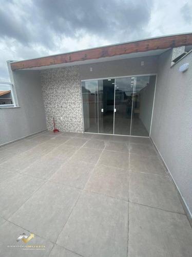 Cobertura Com 2 Dormitórios À Venda, 150 M² Por R$ 535.000 - Utinga - Santo André/sp - Co0942