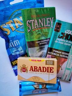 Tabacos Para Armar Menta En Kit Mentolado Para Armar Cigarri
