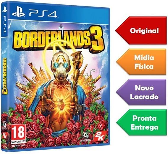 Borderlands 3 Ps4 Mídia Física Novo Lacrado Pronta Entrega