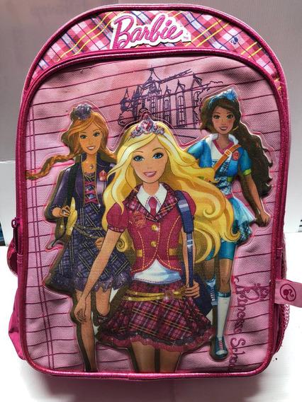 Mochila De Barbie 16 Original Varías Duendesyprincesas