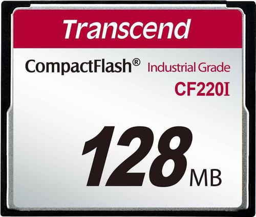 Imagem 1 de 2 de Compact Flash Transcend 128mb  Cf200i 200x Industrial Grade