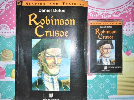 Livro Robinson Crusoe (acompanha Fita Cassete Com O Áudio)