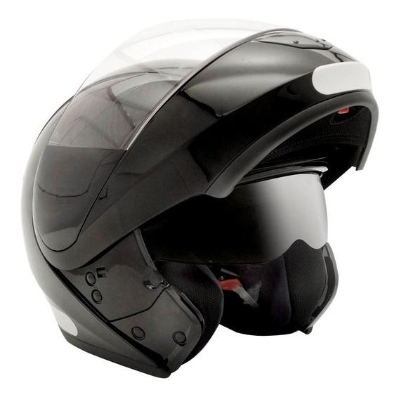 Capacete Moto Peels Escamoteável Urban Classic Preto Fosco