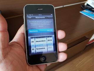 iPhone 3gs 32gb Mod A1303 Original Preto Desbloqueado Ok