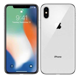 iPhone X Silver- Branco