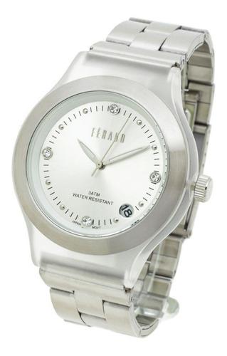 Reloj Feraud Mujer Lf69068 - Full Blodeed Wr30 Strass Fecha
