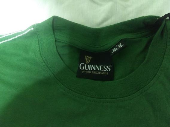 Camiseta Guiness Original Verde