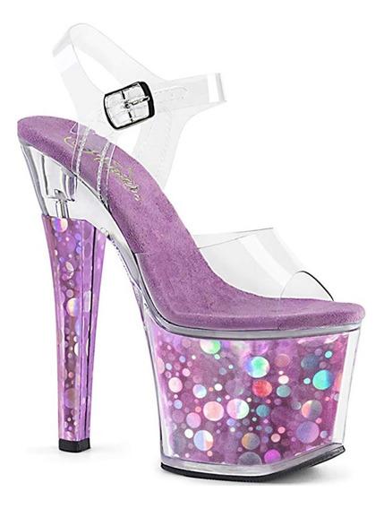 Zapatos Pleaser Modelo Radiant 708 Importados De Usa