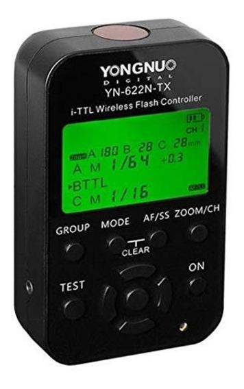 Radio Flash Yongnuo Yn-622n-tx I-ttl Para Nikon Controlador