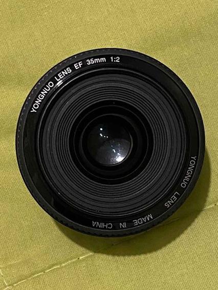Lente 35mm Yongnuo F/2