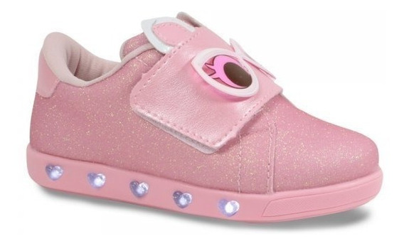 Tênis Infantil Pampili 165.073 Sneaker Luz Dot