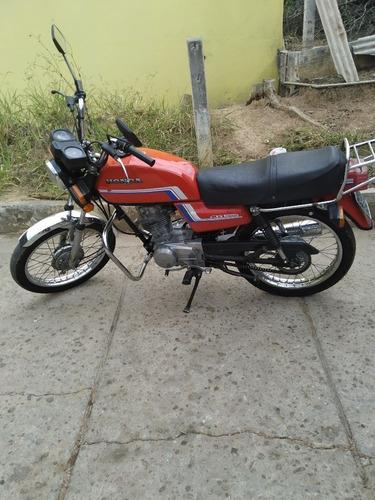 Moto Cg 125 Ano 1983