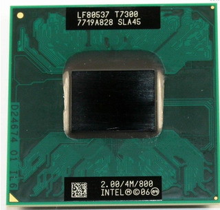 Intel Core 2 Duo T7300 2 Ghz Dual-core 4m 800mhz Cpu
