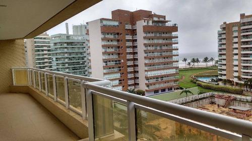 Apartamento Com 4 Dormitórios À Venda, 140 M² Por R$ 2.700.000,00 - Riviera - Módulo 8 - Bertioga/sp - Ap1173