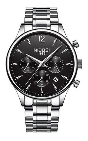 Nibosi Silver Black