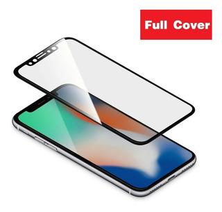 Pelicula Full Cover +case Transparente iPhone X