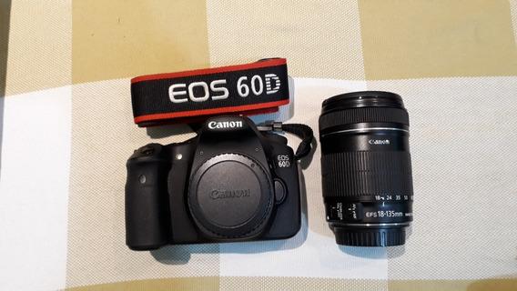 Camera Fotográfica Canon Eos 60d