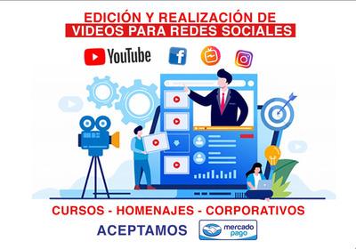 Edicion De Video Para Redes , Negocios , Homenajes