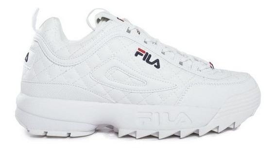 Zapatillas Fila Disruptor 2 Quilted Bla De Hombres