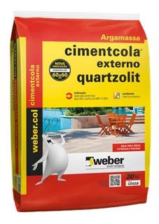 Argamassa Cimentcola Externo Acii 20 Kg- Quartzolit