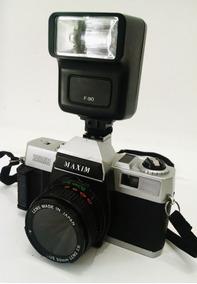 Câmera Fotográfica Maxim 2000 Vintage Para Decoração
