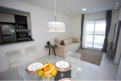 Apartamento 2 Dormitórios, Sacada Gourmet, Com 1 Vaga De Garagem Em Mongaguá - R2m33a - R2m33a - 33701545
