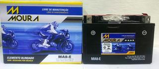 Bateria Moto Comet 250 Gtr Kasinski * Checar Medidas * Ma8-e