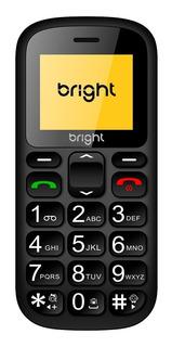 Celular Bright 0485 P/ Idoso Botao Sos Fm Dual Chip + Nf