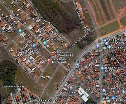 Imagem 1 de 1 de Terreno À Venda, 322 M² Por R$ 207.000,00 - Parque Orestes Ôngaro - Hortolândia/sp - Te1498