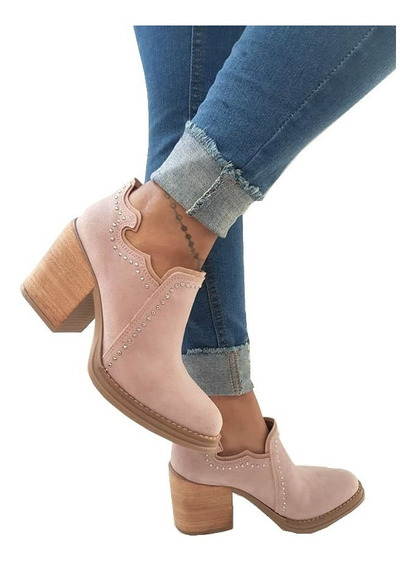 Texana Charritos Zapatos Mujer Dama Botas Botitas
