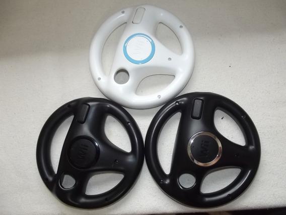 Wii Wheel ¬ Volante Oficial Do Jogo Mario Kart Wii E Wii U