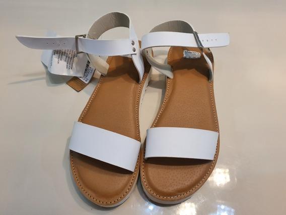 Sandalias Blancas Mimo. Nuevas!