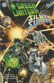 Green Lantern And Silver Surfer - Dc - Bonellihq Cx39 E19