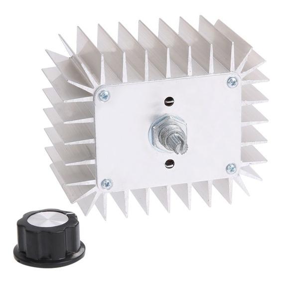 Dimmer Ac 0-220v Regulador De Tensão - 5000w