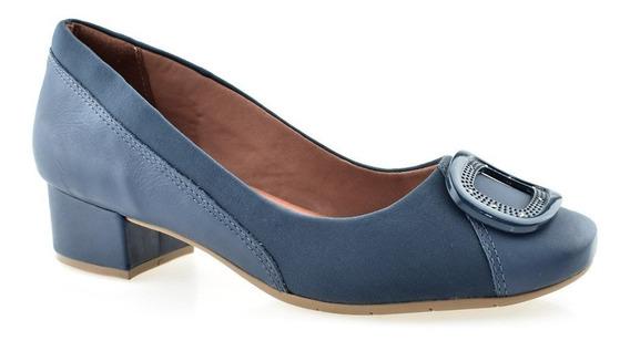 Sapato Comfortflex Com Proteção Joanetes Salto Baixo 1895305