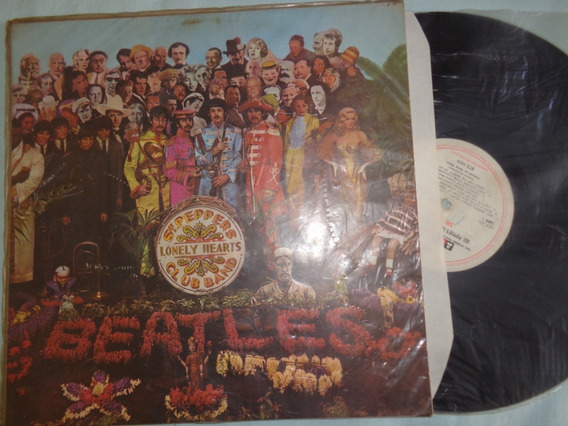 Lp Beatles, Sgt Peppers- Mono, Origin. 1967
