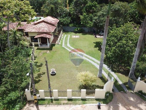 Lindíssima Casa Mobiliada No Km-13 Da Estrada De Aldeia - Ca0284