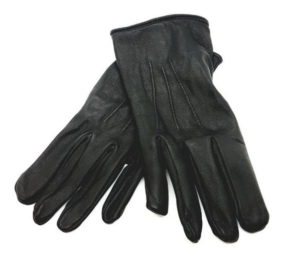 Policia Seguridad Aeroportuaria-guantes P/social 100% Cuero