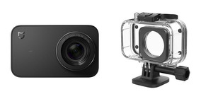 Câmera Filmadora De Ação Xiaomi Mijia 4k + Caixa Estanque