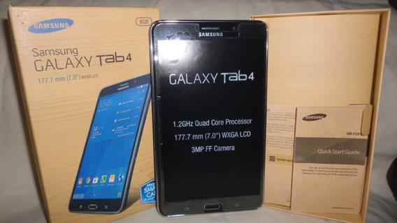 Samsung Galaxy Tab 4 De 7 Pulgadas Usada En Su Caja Wifi Tlf