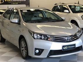 Toyota Corolla Xei 2.0 Flex 16v Aut. 2015 Unico Dono