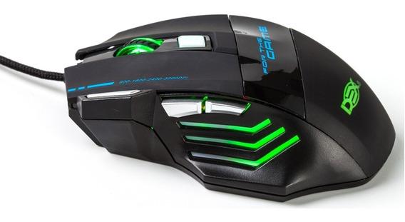 Mouse Gamer 3200 Dpi Luz De Led 5 Cores 7 Botões C 993