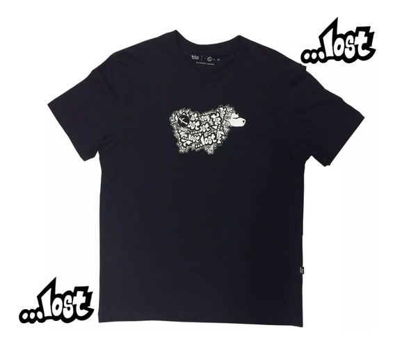 Camiseta Lost Sheep Logo Lost 22022841 Original Masculina