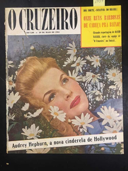 O Cruzeiro N°33 Audrey Hepburn -cinderela De Hollywood -1954