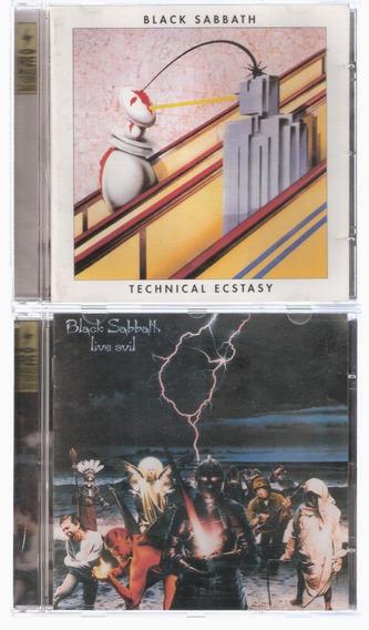 3 Cd Black Sabbath - Technical / Live Evil / Vol. 4 Remaster