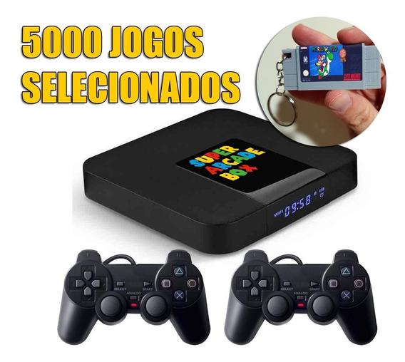 Video Game Retro 5000 Jogos Selecionados Com Brinde