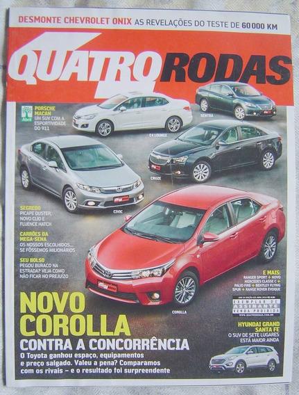 Revista 4 Rodas Especial - Edição 655 - Novo Corolla.